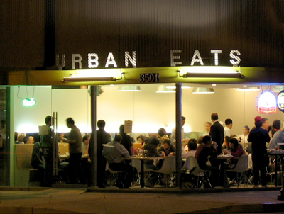 Urban Eats at Night